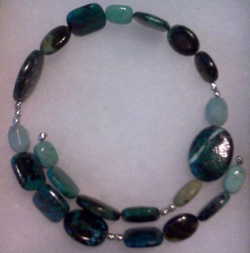 Jasper Wrapp Necklace